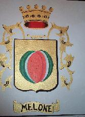 Melone Family Crest